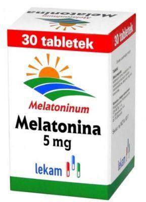 Melatonina w tabletkach